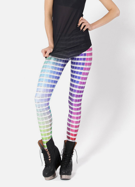 Hex colour leggings
