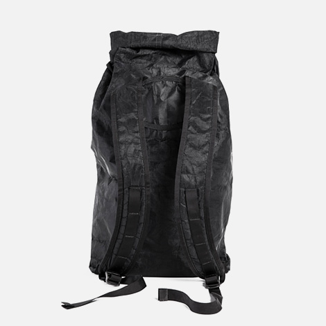 Outlier black minimal backpack