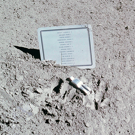 Sculpture on the Moon: The Fallen Astronaut