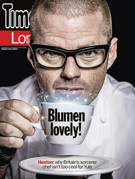 Heston x Time Out