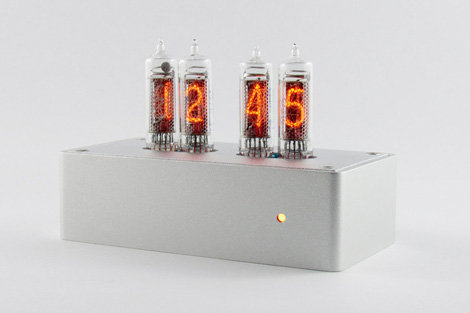 Blub nixie tube clock