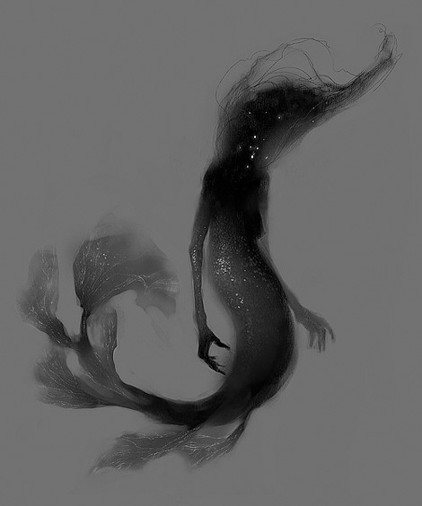 Witchy sea creature