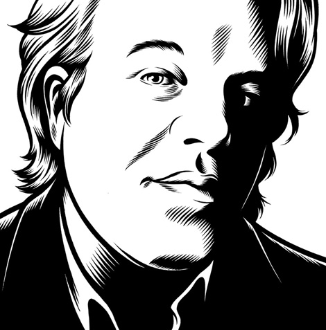 Philip Seymour Hoffman x Charles Burns