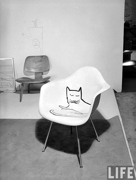 Eames Cat Chair