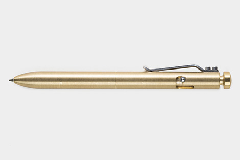 Machined Bolt Pen