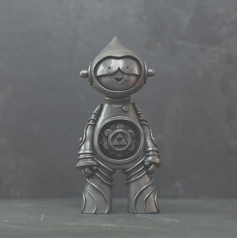 Pewter special edition Muju Mandala Spirit sculpture