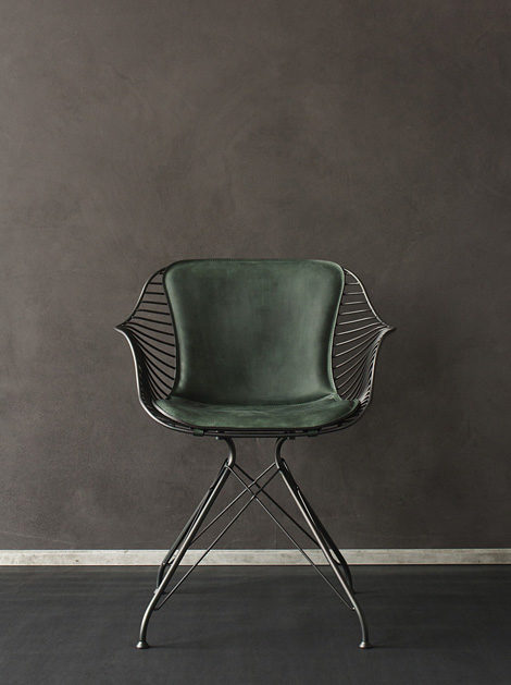 Overgaard & Dyrman Wire dining chair