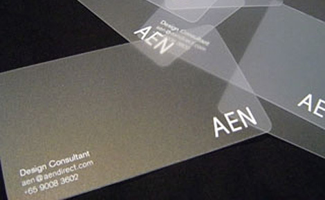 AEN business card
