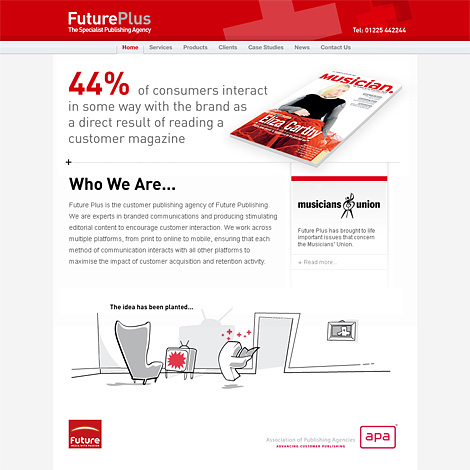 Future Plus website