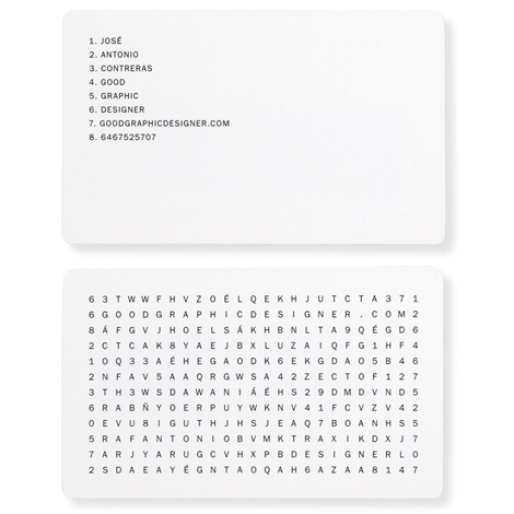 Good Graphic Designer business card