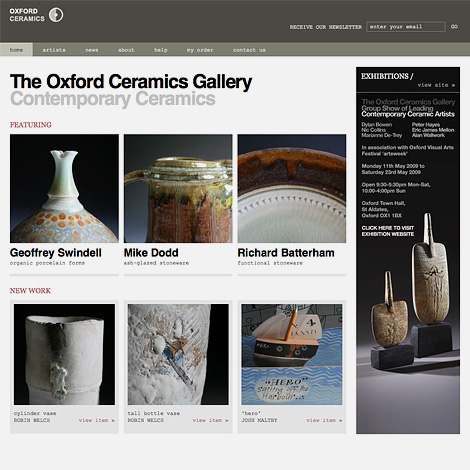 Oxford Ceramics website