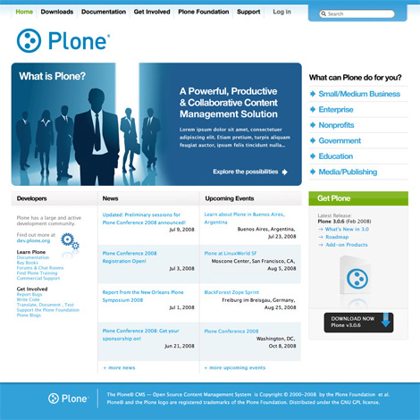 Plone.org website
