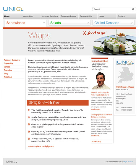 Uniq website