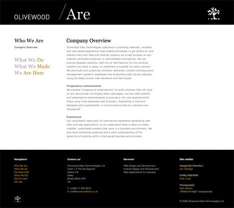 Olivewood website