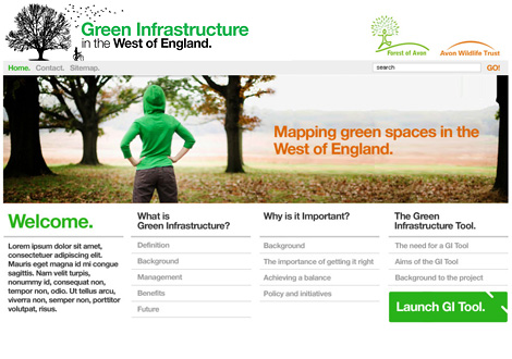 Green Infrastructure website