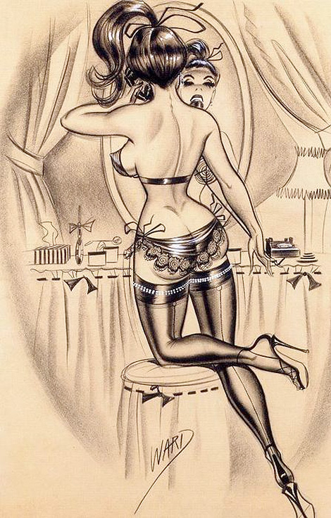 Bill Ward pin-up