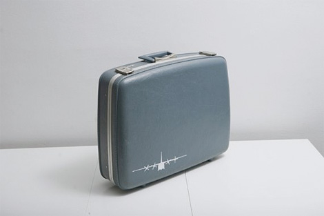 Upcycled luggage