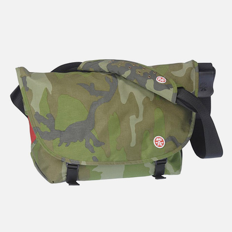 Camo Crumpler Textbook Point Messenger bag