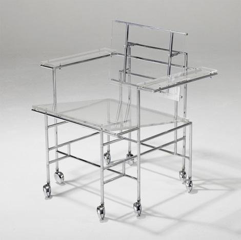 Paul Rudolph: Rolling Armchair