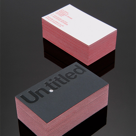 Un.titled business card