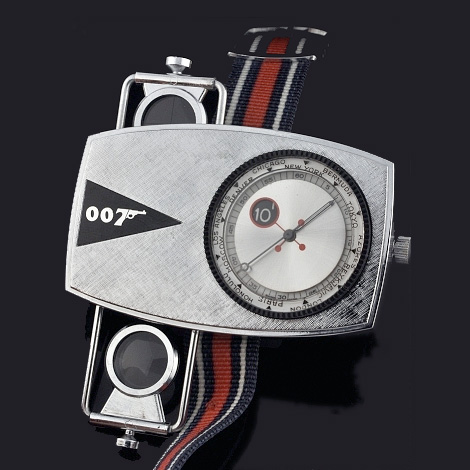 James Bond 007 Spy Watch