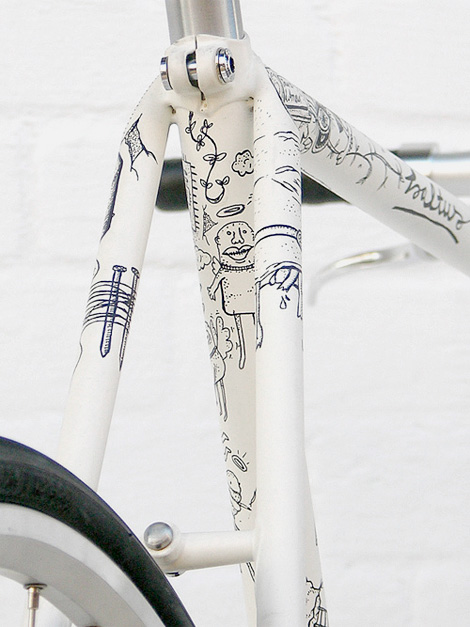 Illustrated Fixie