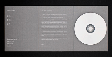 Tamaru CD packaging