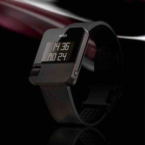 Braun relógio digital