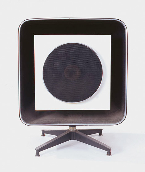 Stevens Trusonic Speaker. Image credit: From The Story of Eames Furniture, Copyright Gestalten 2010