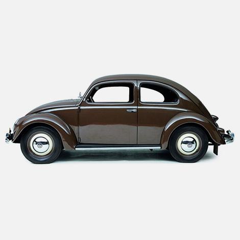 Volkswagen Beetle 11C De Luxe (1951)