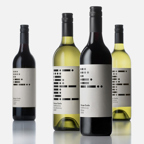Morse Code wine