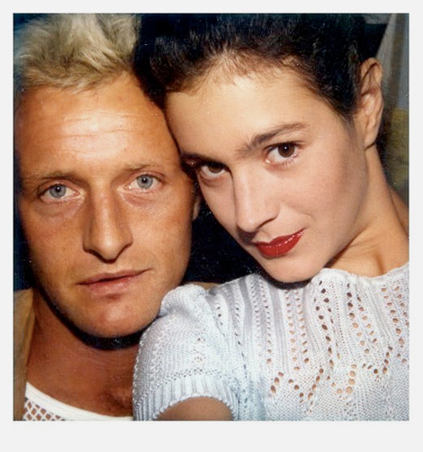 Sean Young and Rutger Hauer