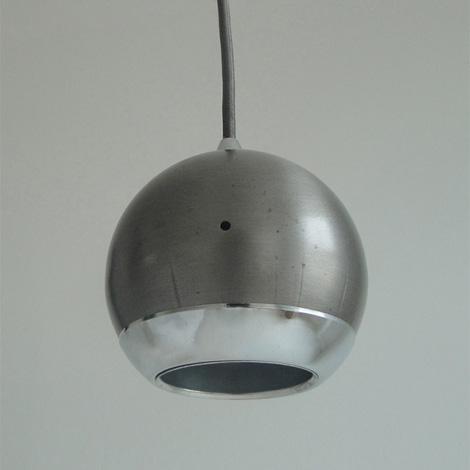 Steel Globe lamp