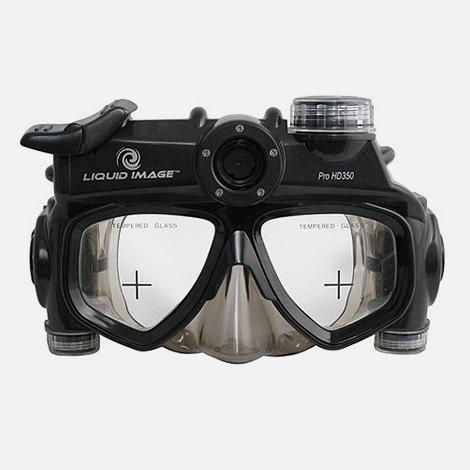 Pro HD350 scuba camera mask