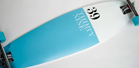 Thirty-Nine Longboard