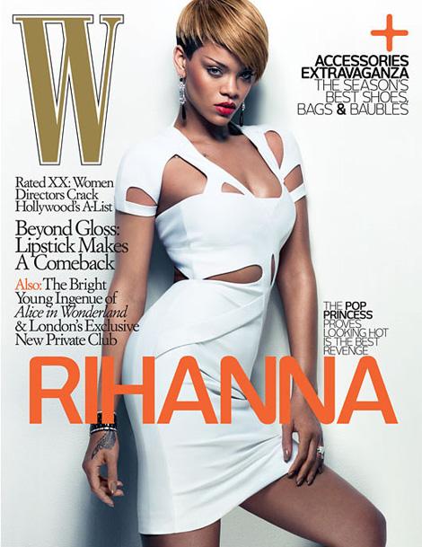W Magazine: Rihanna x Craig McDean