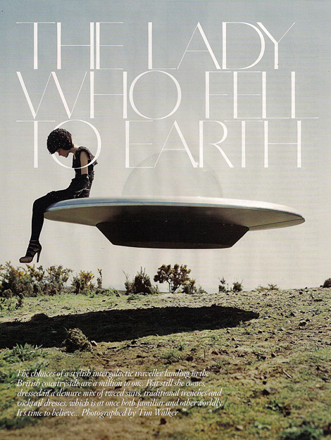 The Lady Who Fell to Earth