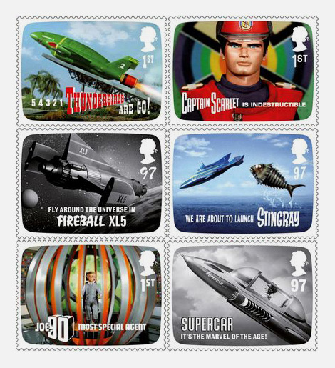 Gerry Anderson stamp issue