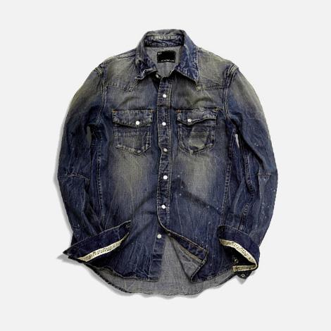 NANO・UNIVERSE x n(n) denim shirt