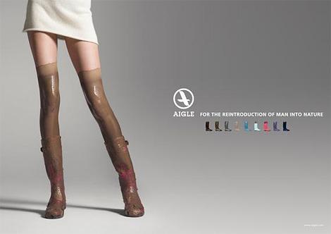 Aigle Boots ad