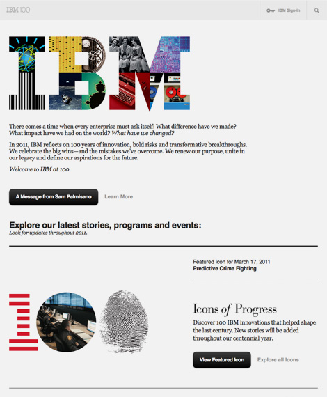 IBM100: Good Design is Good Business