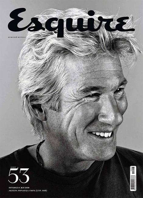Esquire Russia: Richard Gere
