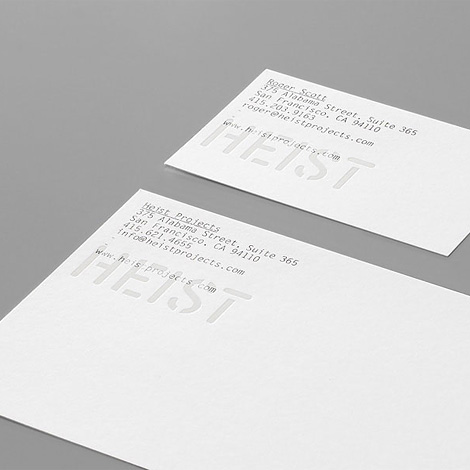 Manual: Heist Projects
