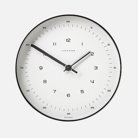 Max Bill: Junghans clock