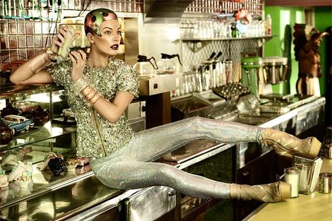 Milla Jovovich by Simon Upton