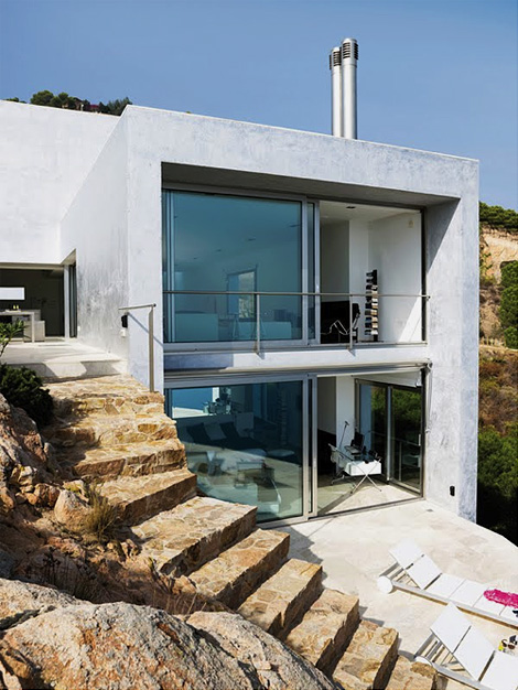 Spanish coastal house
