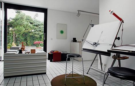 Dieter Rams's studio