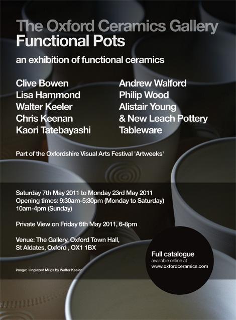 Oxford Ceramics: Functional Pots