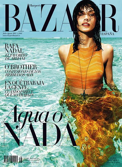 Harper's Bazaar España: July 2011