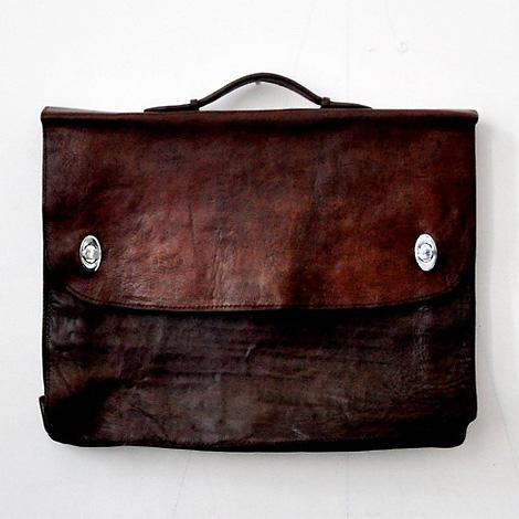 Le Vestiaire de Jeanne leather briefcase